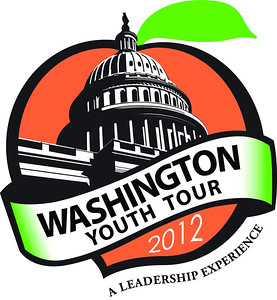 Georgia's peachy Youth Tour logo! :)